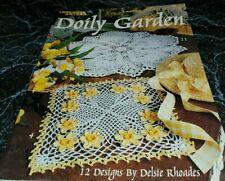 New listing Feb20 Leisure Arts 1995, Doily Garden - 12 Crochet Designs