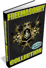 452 Freemasonry Rare Book Collection on DVD + Bonus 250 Imgage and Clipart