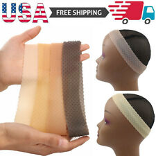 Non Slip Wig Gripper Silicone Grip Band RopShaped Sport Elastic Hair Headband US