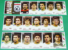 PANINI FOOTBALL GERMANY 2006 IRAN ALI DAEI WM COMPLET FIFA WORLD CUP