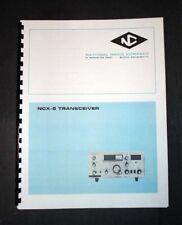 National NCX-5 NCX 5 Transceiver Manual