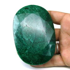 Rare Huge 952Ct Natural Brazilian Green Emerald Oval Shape Faceted Gemstone