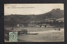 SENS (89) BARRAGE ST-BOND , ECLUSE animée & NOUVEAU ROBINSON en 1906