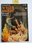 THE BEST OF WHITE DWARF ARTICLES VOL II GAMES WORKSHOP 1983 54 Pgs