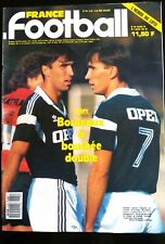 b)FRANCE FOOTBALL 3/03/1987; Bordeaux-Tropedo/ Bossis/ Zoran et Zlatko Vujovic