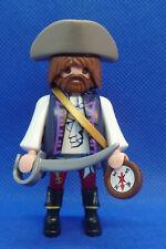Playmobil SN-9 Pirate Captain Figure Belt Sword Hat Compass 70032
