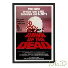 Amanecer De Los Muertos-Caja de cartel de la película marco
