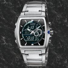 Reloj Nuevo Casio EDFICE Termómetro EFA-120D-1 100M WR Analógica digital Acero