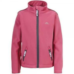 Trespass Janee Softshell Jacket Pink Age 9/10 Years rrp £52.99 DH082 AA 10