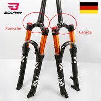 "BOLANY 26/27.5/29"" Konische/Gerade MTB Fahrrad Federgabel Gabeln Luftfeder Gabel"
