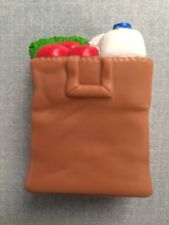 Brown Grocery Bag Groceries Food Kitchen Fisher Price Loving Family Dollhouse