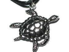 Greek Turtle English Pewter pendant