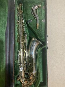 King Super 20 Silver Sonic Tenor Saxophone 1975-80