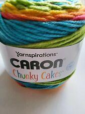 Yarnspirations Caron Chunky Cakes YARN ~ BLUE MOON shades of teal