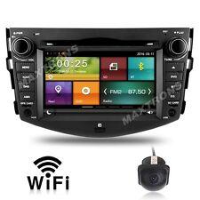 Radio Stereo DVD player HEADUNIT NAVIGATION FOR Toyota Rav4 2006-12 Free Camera