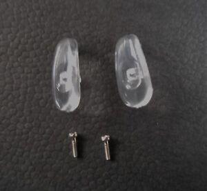 Soft non-slip silicone 13mm Glasses Screw-in Nose Pad and or Glasses Screw
