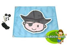 PIRATE FLAG for playgrounds flagposts 54x45cm
