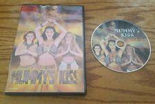 The Mummy's Kiss (DVD) mummys Donald F. Glut erotic horror film Ava Niche RARE