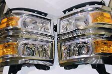 2014 to 2015 chevy silverado 1500 led headlights