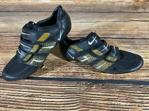 NIKE Carbon Road Cycling Shoes Road Bike 3 Bolts Size EU 44 with SPD SL Cleats