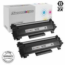 2PK TN770 for Brother TN-770 Super Hi Yield BLK Toner Cartridge HLL2370 MFCL2750