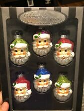 Christopher Radko Hand Crafted Glass Christmas Ornaments