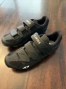 GiroRiela RII Size 7.5 US 39 EU Womens Mountain Bike Shoes Black New No Box