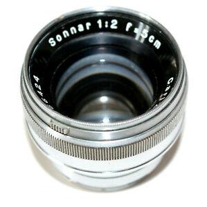 Carl Zeiss Jena SONNAR f2 50mm 1936 Lens No.1866424