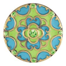 """Ginger Snapsâ""""¢ Blossom - Green/Turquoise Sn08-92 Buy 4, Get 5Th $6.95 Snap Free"""