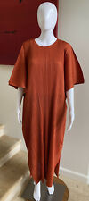NWOT PLEATS PLEASE ISSEY MIYAKE Pleated Caftan Dress, Size 3 / Medium