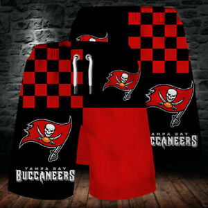 Tampa Bay Buccaneers Football Summer Beach Shorts Loose Sports Short Swim Trunk2