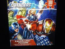 "Marvel's The Avengers 12"" X 9"" Lenticular 100 Piece Puzzle, Cardinal Inc. New #5"
