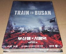 TRAIN TO BUSAN / SEOUL STATION / PLAIN ARCHIVE /STEEL BOOK QUARTER SLIP BLU-RAY