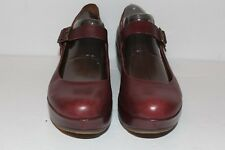 KORKS By KORK EASE Burgundy Platform Mary Jane Women's Shoes size 8.5 US