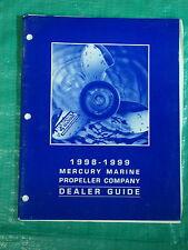 OEM Mercury Outboard Marine Propeller Company Dealer Prop Guide 90-580674-99