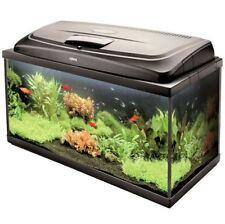 Rettangolo Nero Design Acquario Acquario completo MANGIME filtro riscaldatore e luce