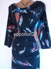 Cowl Neck Party Floral Plus Size Dresses for Women