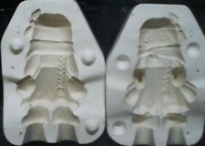 Ceramic Mold Molds Indian Girl With Sewing Kit Clay Magic 726