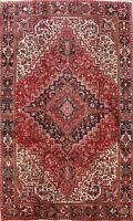 Vintage Geometric Traditional Hand-knotted Area Rug Wool Oriental Carpet 8x12