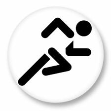 Magnet Aimant Frigo Ø38mm Picto Pictogramme Sport Game Olympic sprint