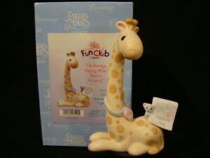 Precious Moments-Mouse/Giraffe Treasure Hunting-2001 Limited Edition
