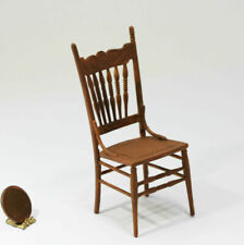 Kitchen Cross Back Chair in Mahogany ~ T3010 Dollhouse Miniature Dining Room