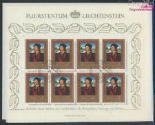 Liechtenstein 881Klb-883Klb Minifoglio (completa edizione) usato 1985 (9213389