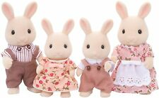 Sylvanian Families - Milk Rabbit Family - Brand New