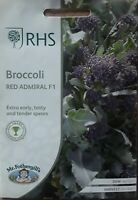 Mr Fothergills - Vegetable - RHS Broccoli Red Admiral F1 - 50 Seeds