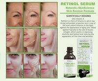 PURE RETINOL VITAMIN A 2.5% + HYALURONIC ACID + ALOE VERA - FACIAL WRINKLE SERUM