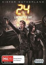 24 LIVE ANOTHER DAY NEW NOT SEALED DVD TV Action Rating MA15+ Free POST 2014