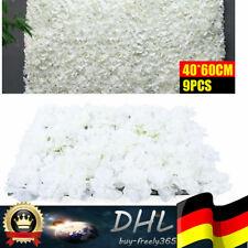 9x Künstliche Blumenwand Rosenwand, DIY Hochzeit Garten Dekor Straße Hintergrund