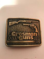 Century Canada Crossman Air Guns Metal Belt Buckle Shooting Coleman Hunting
