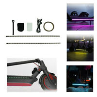 1x LED Light Strip Night Light Lamp For Xiaomi-M365 Electric Scooter Accessories